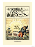 Puck Magazine: Celestial Wrath Stampe di Frederick Burr Opper