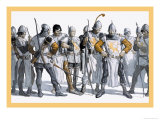 Knights of the Round Table Posters af Newell Convers Wyeth