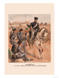 Voltigeur, Infantry, Dragoon and Artillery Prints by H.a. Ogden