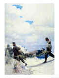 The Rescue of Captain Harding Prints by Newell Convers Wyeth