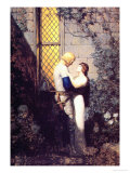 Oh, Gentle Knight Kunst af Newell Convers Wyeth