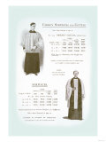 Clergy Surplices and Cottas Prints