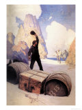Discovery of the Chest Posters af Newell Convers Wyeth