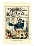 Puck Magazine: Our Rampageous Preachers Posters by F. Graetz