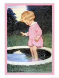 Boy Who Forgot to Wash Affiches par Jessie Willcox-Smith