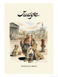 Judge: The Political Orphan Print by Bernhard Gillam