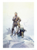The Castaways Await Print by Newell Convers Wyeth