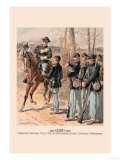 Campaign Uniform, Field, Line and Non-Commissioned Officers and Privates Print by H.a. Ogden