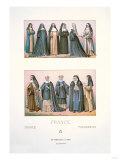 France-Nuns Prints