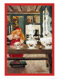 Goldilocks Prints by Jessie Willcox-Smith