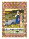 Pastores Pósters por Ivan Bilibin