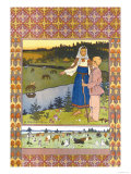 Shepherds Prints by Ivan Bilibin