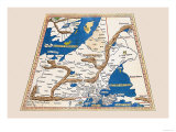 Untitled Map Prints by  Ptolemy