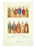 Europe-Moyen-Age Prints