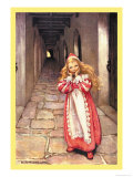 Frightened Princess Prints by Jessie Willcox-Smith
