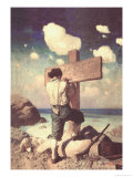 The Great Cross Plakater af Newell Convers Wyeth