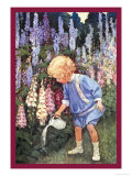 Fairy Gardens Art by Jessie Willcox-Smith