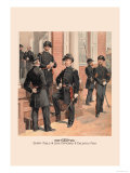 Staff, Field and Line Officers and Enlisted Men Art by H.a. Ogden