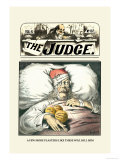 Judge: A Few More Plasters Like These Will Kill Him Posters by Grant Hamilton