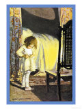 Bed in Summer Posters par Jessie Willcox-Smith