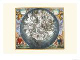 Haemisphaerium Stellatum Prints by Andreas Cellarius