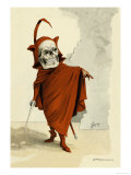 Red Death Premium Giclee Print by F. Frusius M.d.