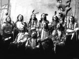 Chief Jack Red Cloud and Chiefs Photo