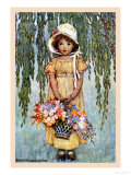 Posy Premium Giclee Print by Jessie Willcox-Smith