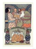 El encuentro Láminas por Ivan Bilibin