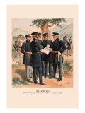 Major General, Staff and Line Officers Prints by H.a. Ogden