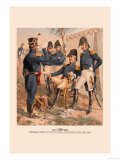 General Staff and Line Officers, Light Artillery Prints by H.a. Ogden