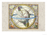 The Celestial Sphere Prints by Andreas Cellarius