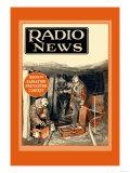 Radio News: Radio Rescues Miners Posters