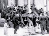 Police on Horseback, Philadelphia, Pennsylvania Prints
