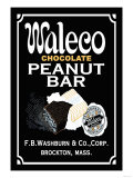 Waleco Chocolate Peanut Bar Posters