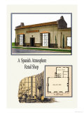 Spanish Atmosphere Retail Shop Prints by Geo E. Miller
