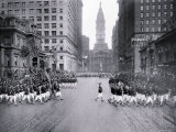 Parade on South Broad Street, Philadelphia, Pennsylvania Photo