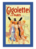 Gigolettes of Paris Posters by Hap Hadley
