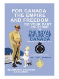 For Canada, The Empire, and Freedom Prints by M. Gagnon