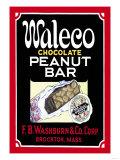 Waleco Chocolate Peanut Bar Posters