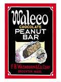 Waleco Chocolate Peanut Bar Prints