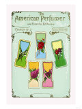American Perfumer and Essential Oil Review, March 1912 Poster