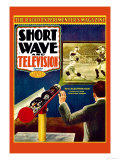 Short Wave and Television: New Electronic Gun Projects Large Television Images Art by Frank R. Paul