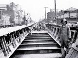 Train Tracks under Construction, Philadelphia, Pennsylvania Photo