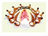 Aida Bomb Cake Posters