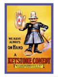We Have Always on Hand a Keystone Comedy: Western Import Company Posters