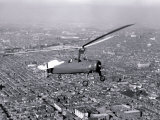 Gyrocopter in Sky, Philadelphia, Pennsylvania Photo
