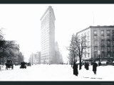 Flatiron Building After Snowstorm Posters by William Henry Jackson