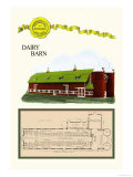 Dairy Barn Prints by Geo E. Miller