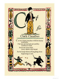 C for Clark Claudius Premium Giclee Print by Tony Sarge